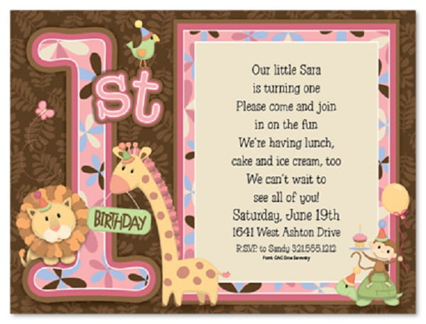 stunning invitations quoted for birthday party