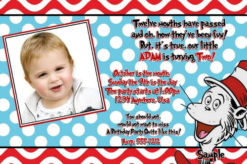 picture free printable dr seuss birthday invitations
