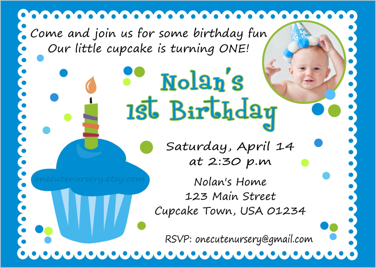 cupcake invitation quotes for birthday invitations