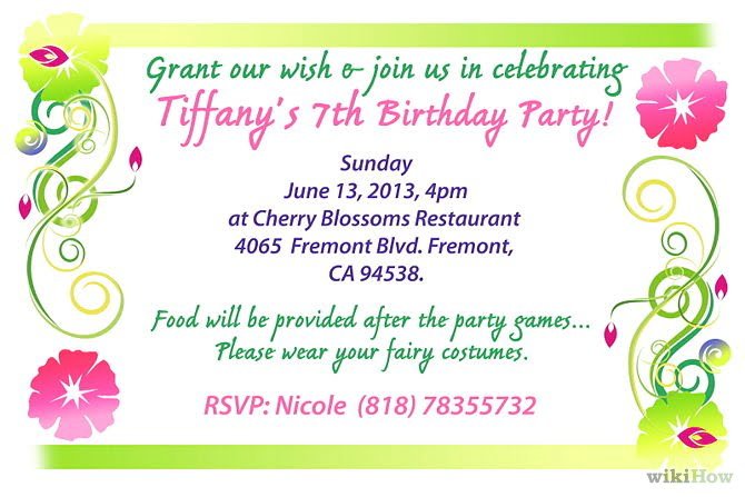Make Party Invitations and get inspiration to create nice invitation ideas
