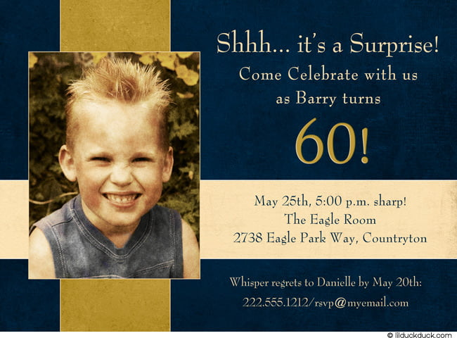 toddler surprise 60th birthday party invitations wording