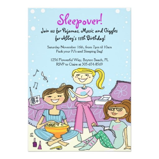 girly printable invitations for girls