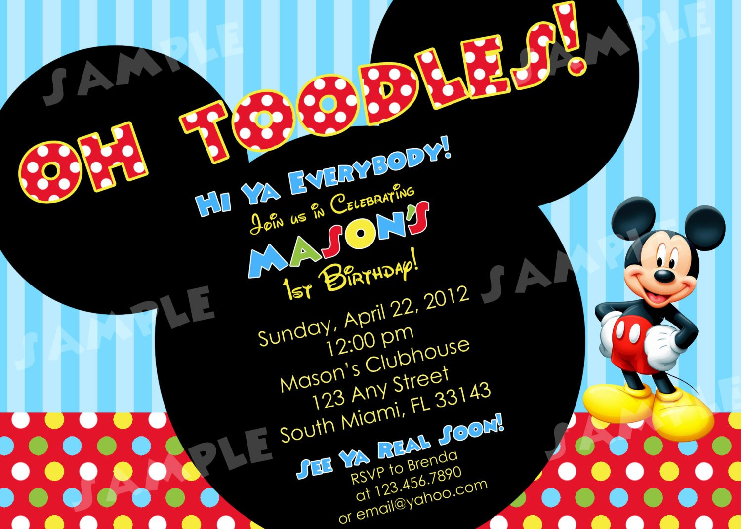 blue red free mickey mouse birthday invitations