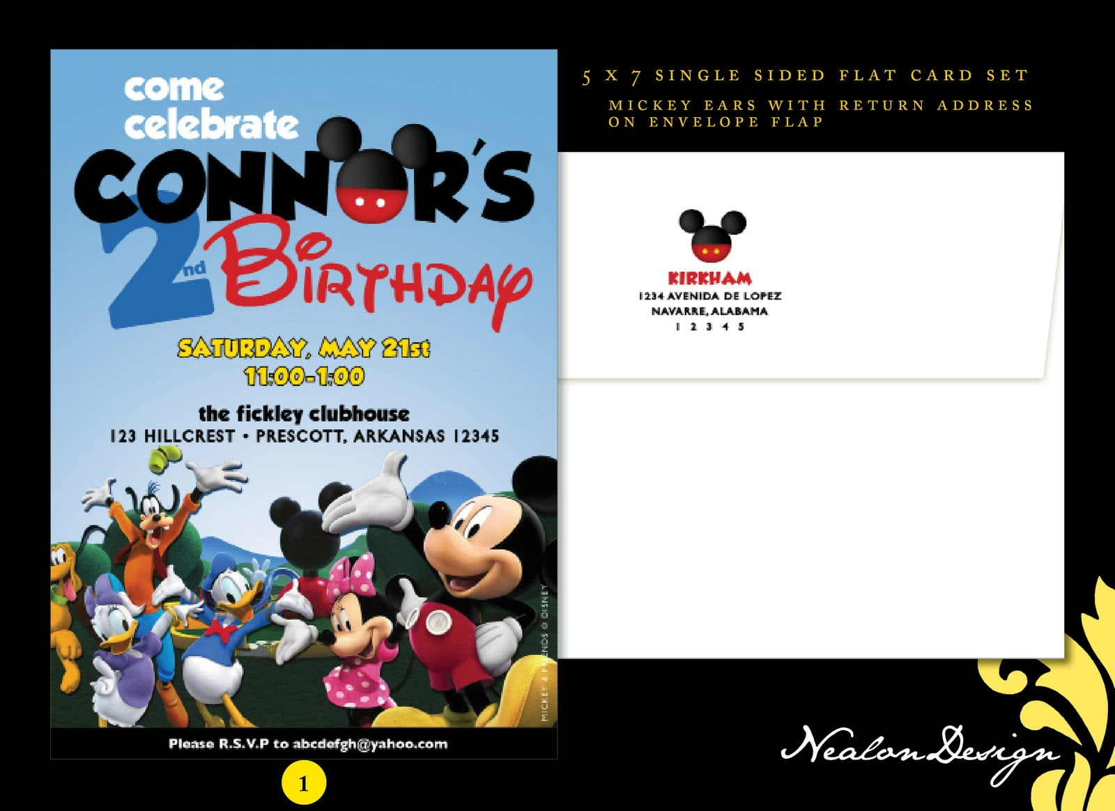 cute mickey mouse birthday invitations templates