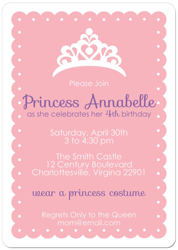 crown free birthday invitations templates printable