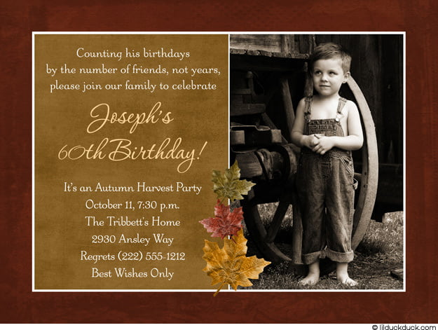 memories free printable 60th birthday party invitations