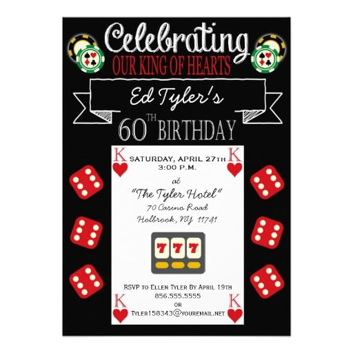 hearts free printable 60th birthday party invitations