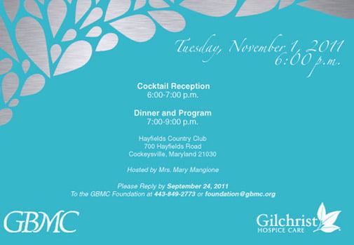 Formal Dinner Invitation