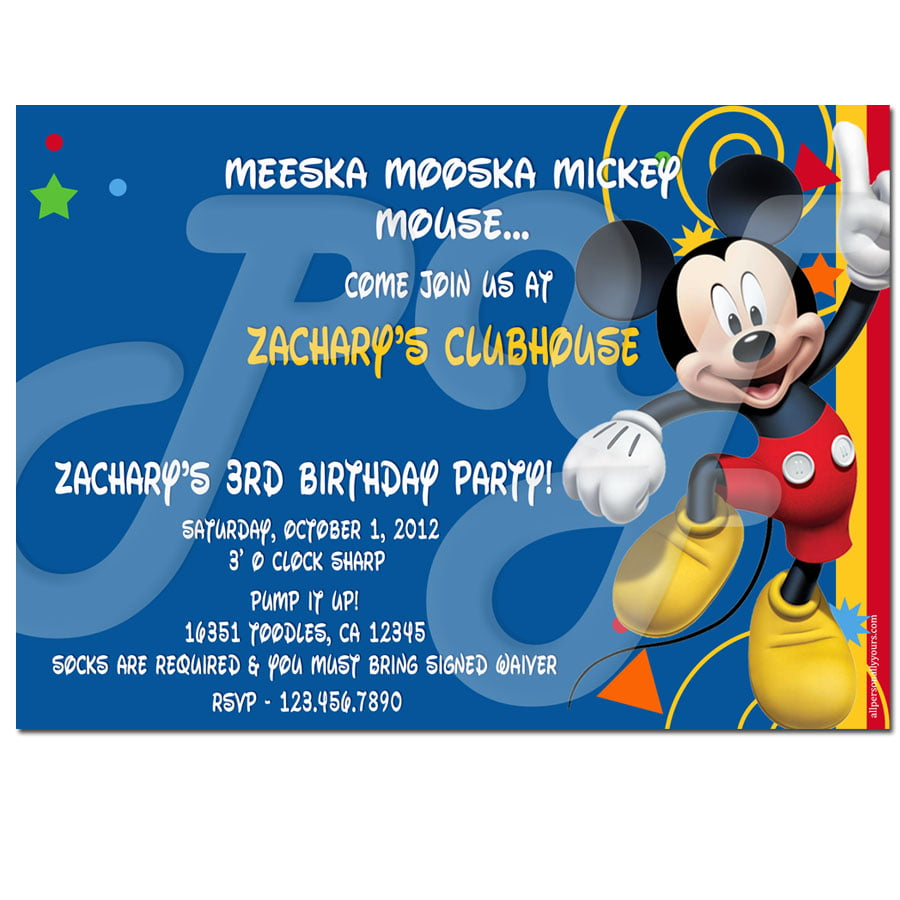 Meeska Mooska Invitation Card writing tutorial