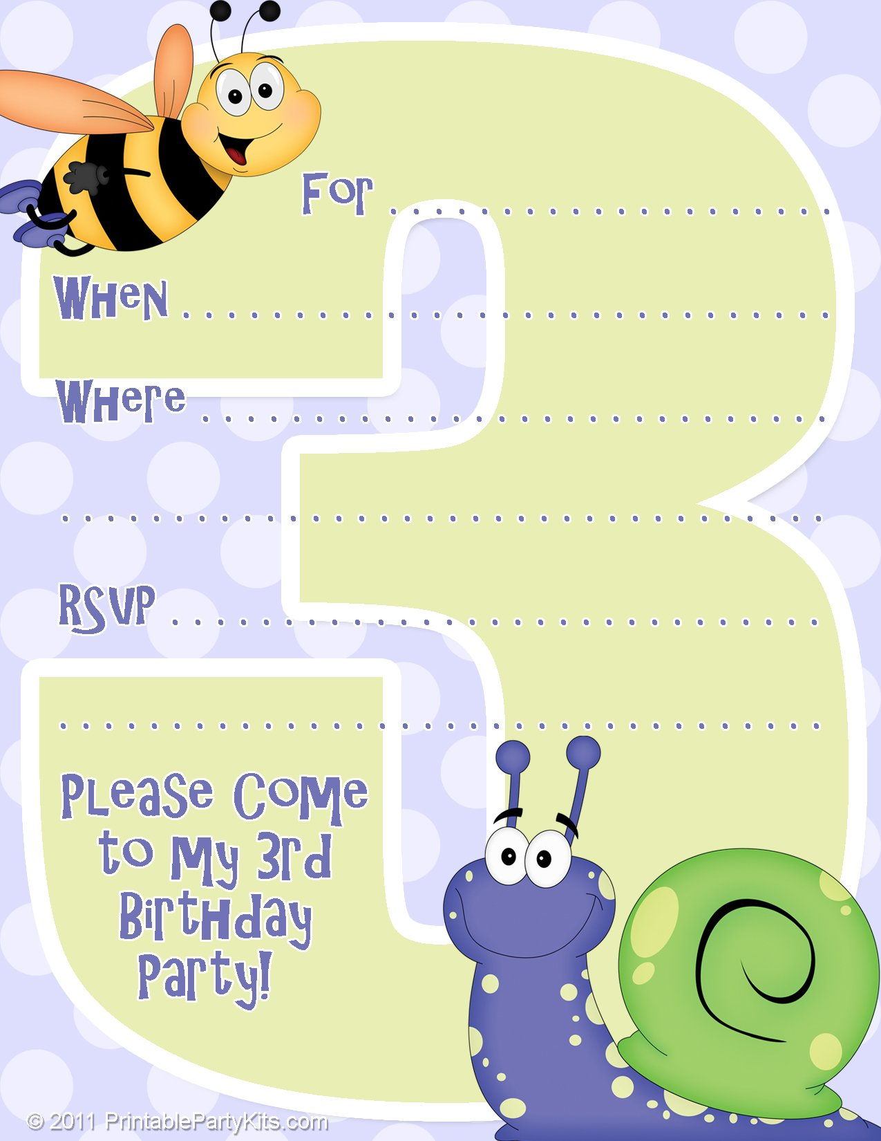 Free Printable Birthday Party Invitations – Where Can I Print Birthday Invitations