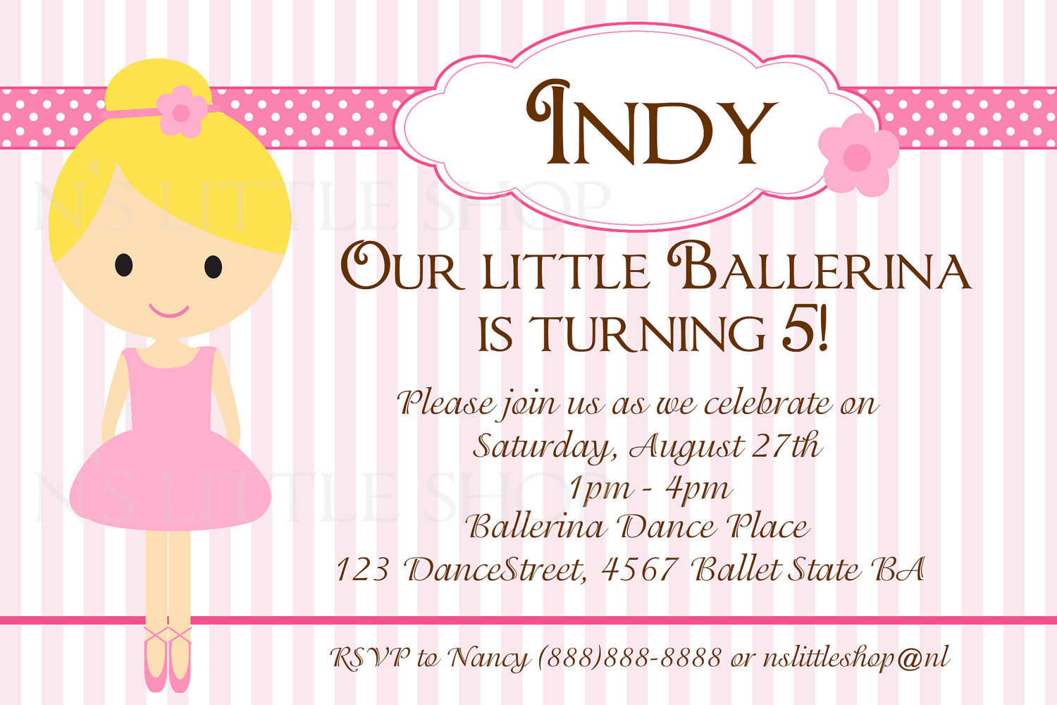Free Printable Fairytale Birthday Invitations For Kids