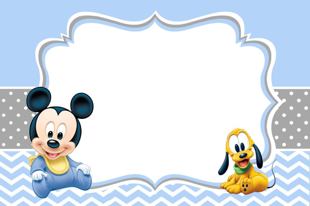 Baby Mickey Mouse Baby Shower Decorations Kit