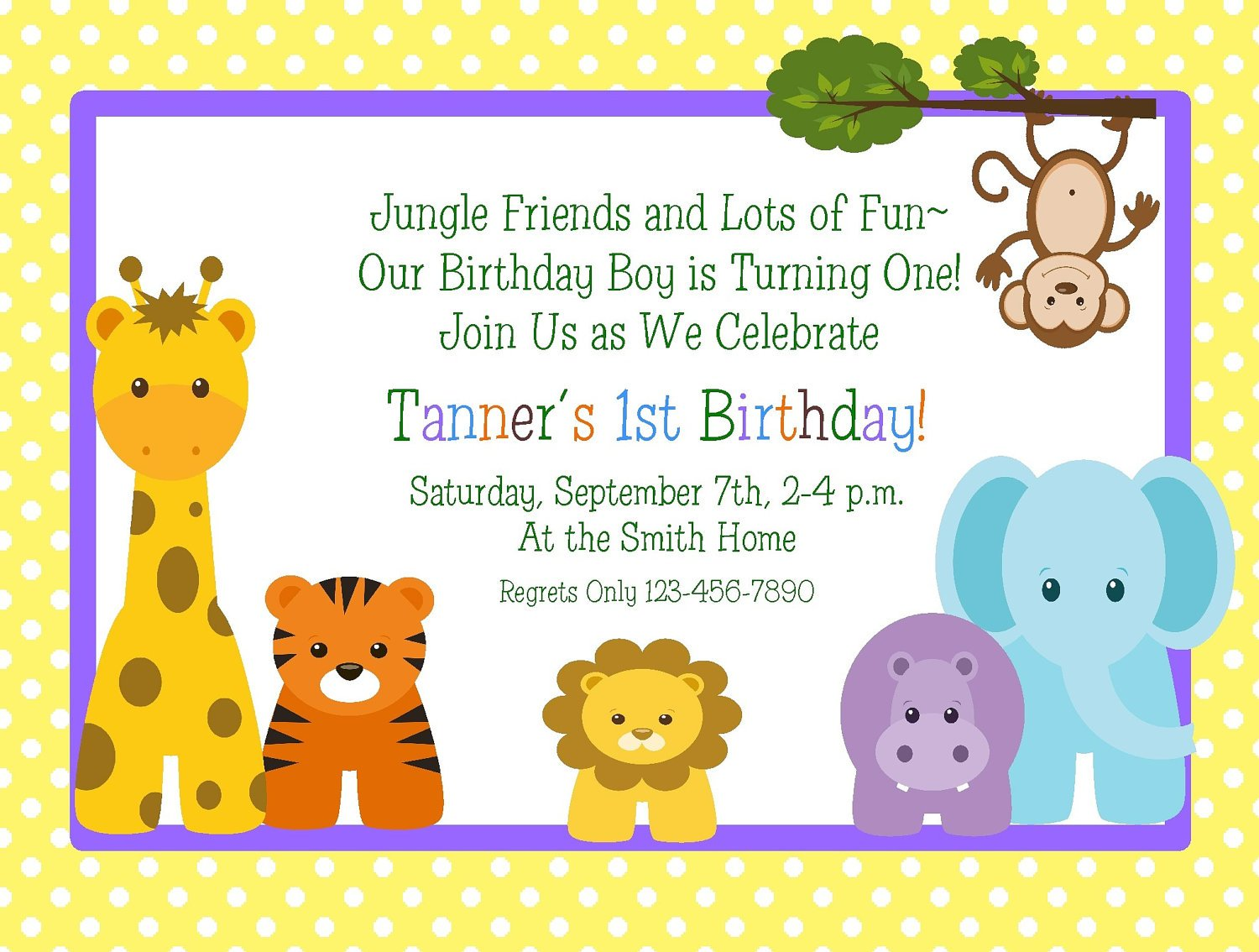 Baby Mickey 1st Birthday Invitations Drevio Design