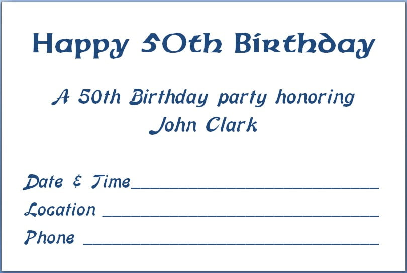 80Th Birthday Invite as perfect invitation sample