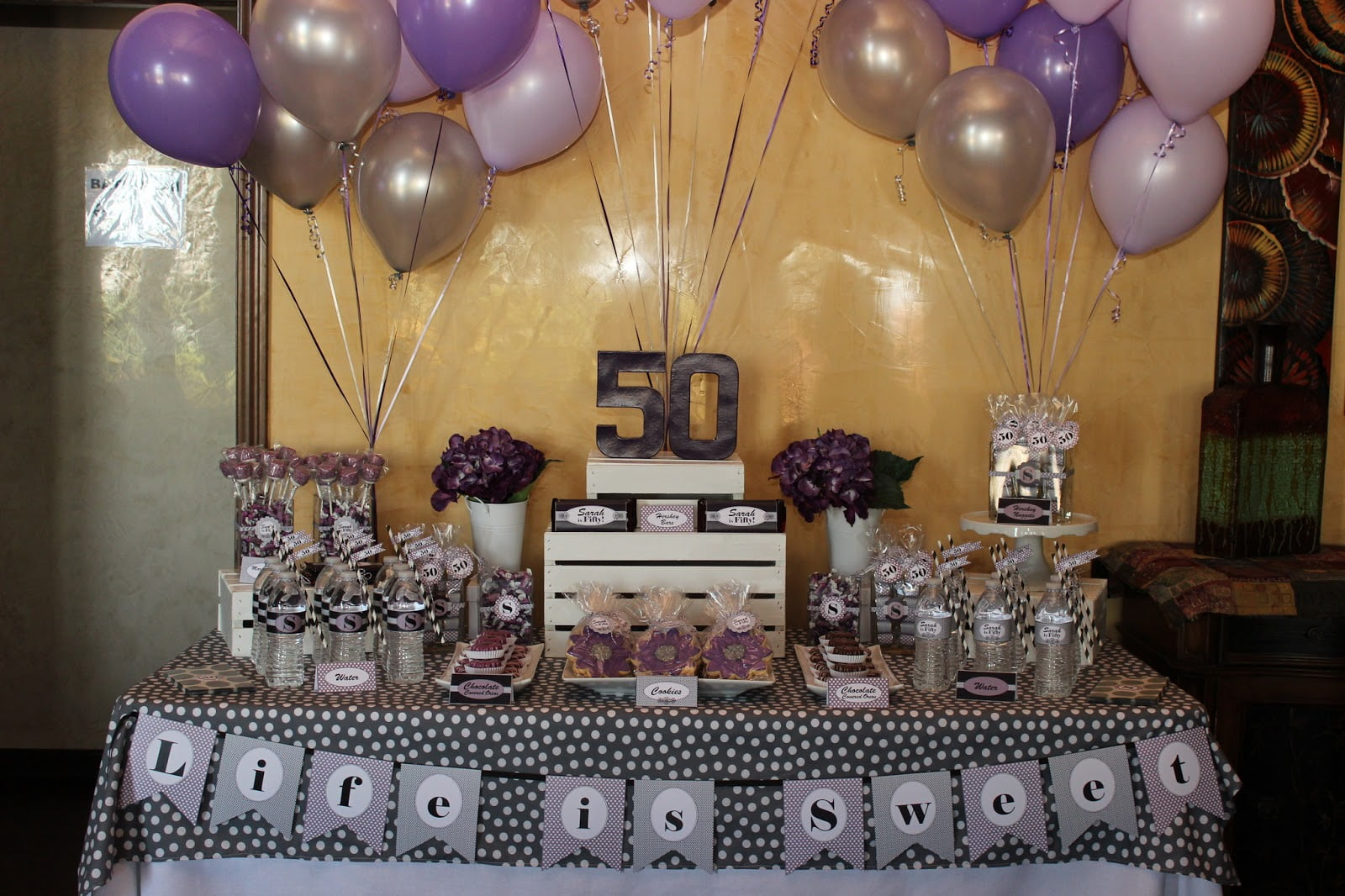 50 years old birthday party invitations celebration