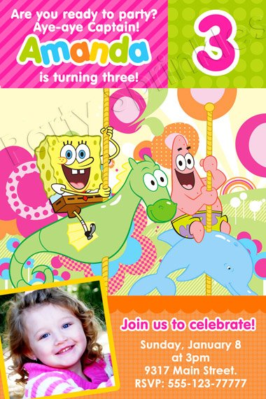 Patrick 2 Years Old Birthday Party Invitations