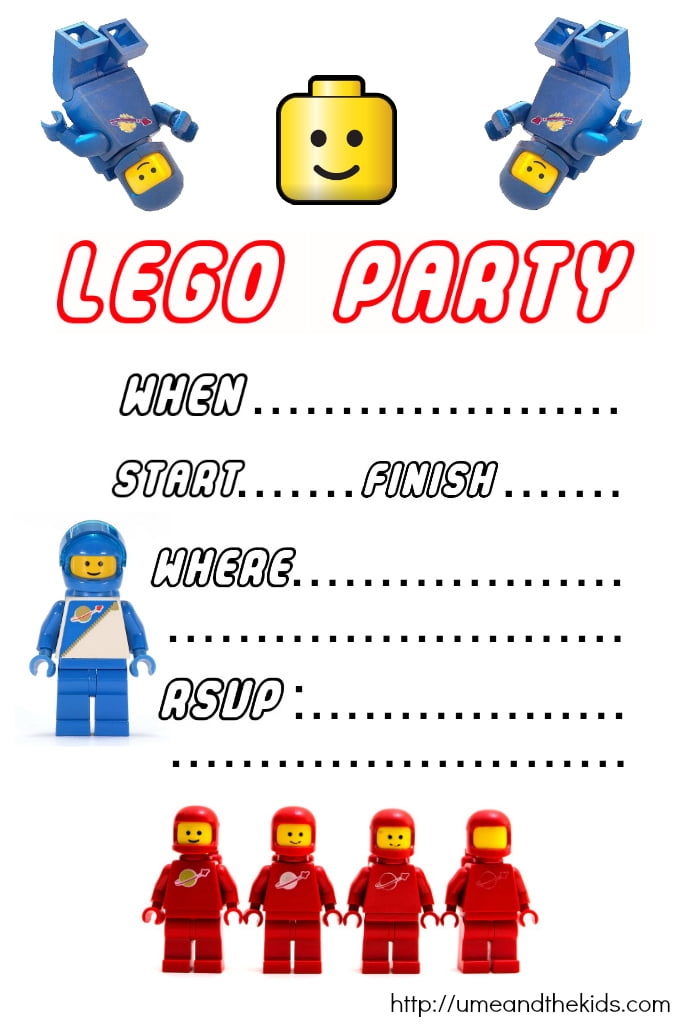 templates lego birthday invitations printable free