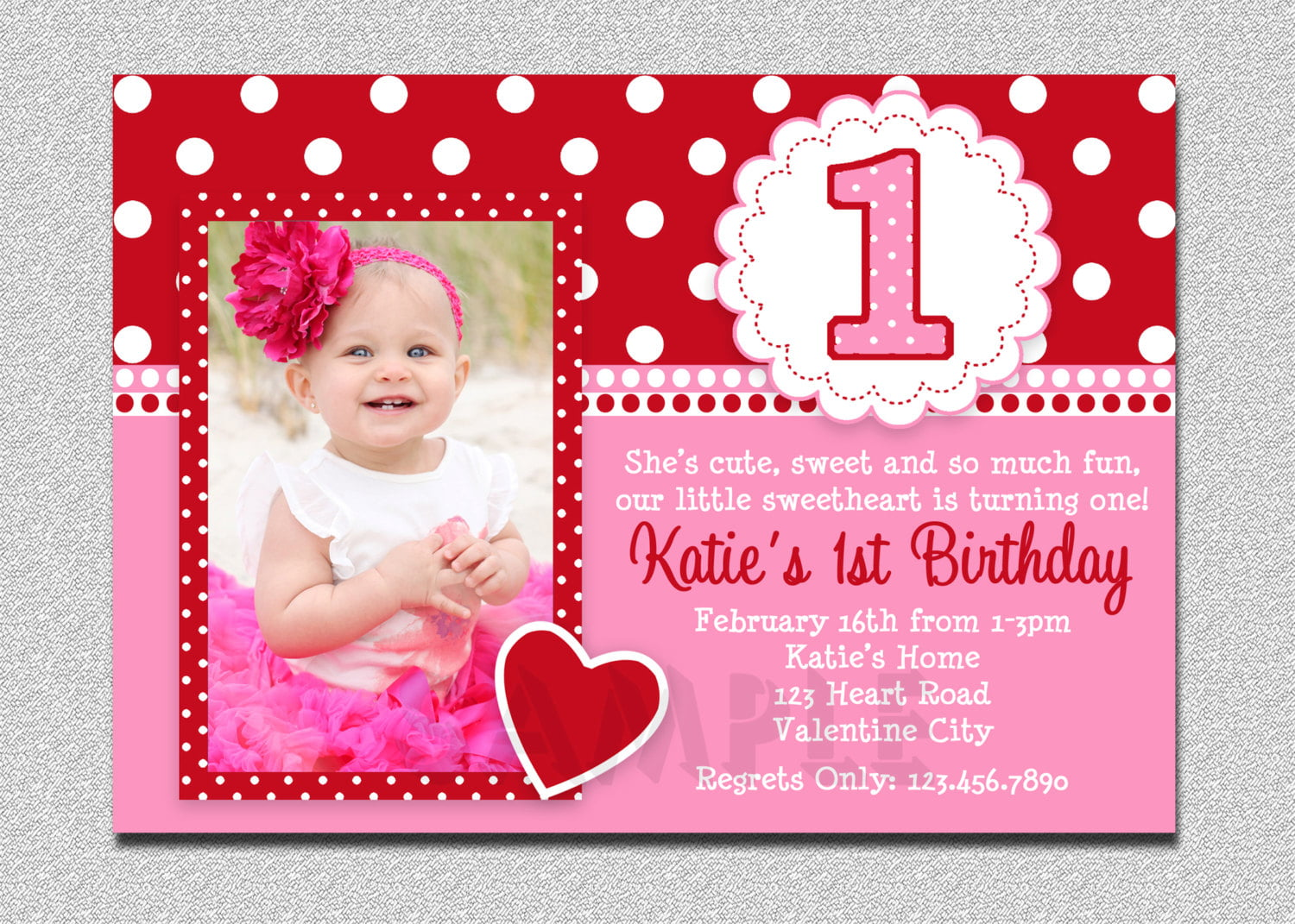 Baby Mickey 1st Birthday Invitations | Drevio Invitations ...