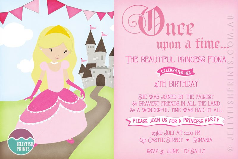 Princess Party Invitation Wording gangcraftnet – Princess Party Invitation Ideas