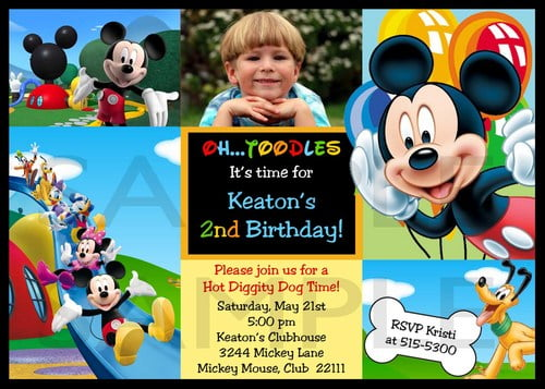 Pictures Personalized Minnie Mouse 1st Birthday Invitations