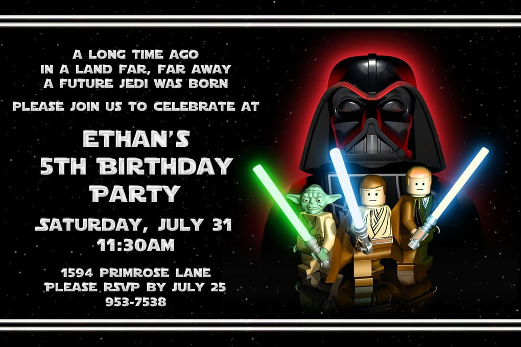 Star Wars Lego Invitation – orderecigsjuice.info