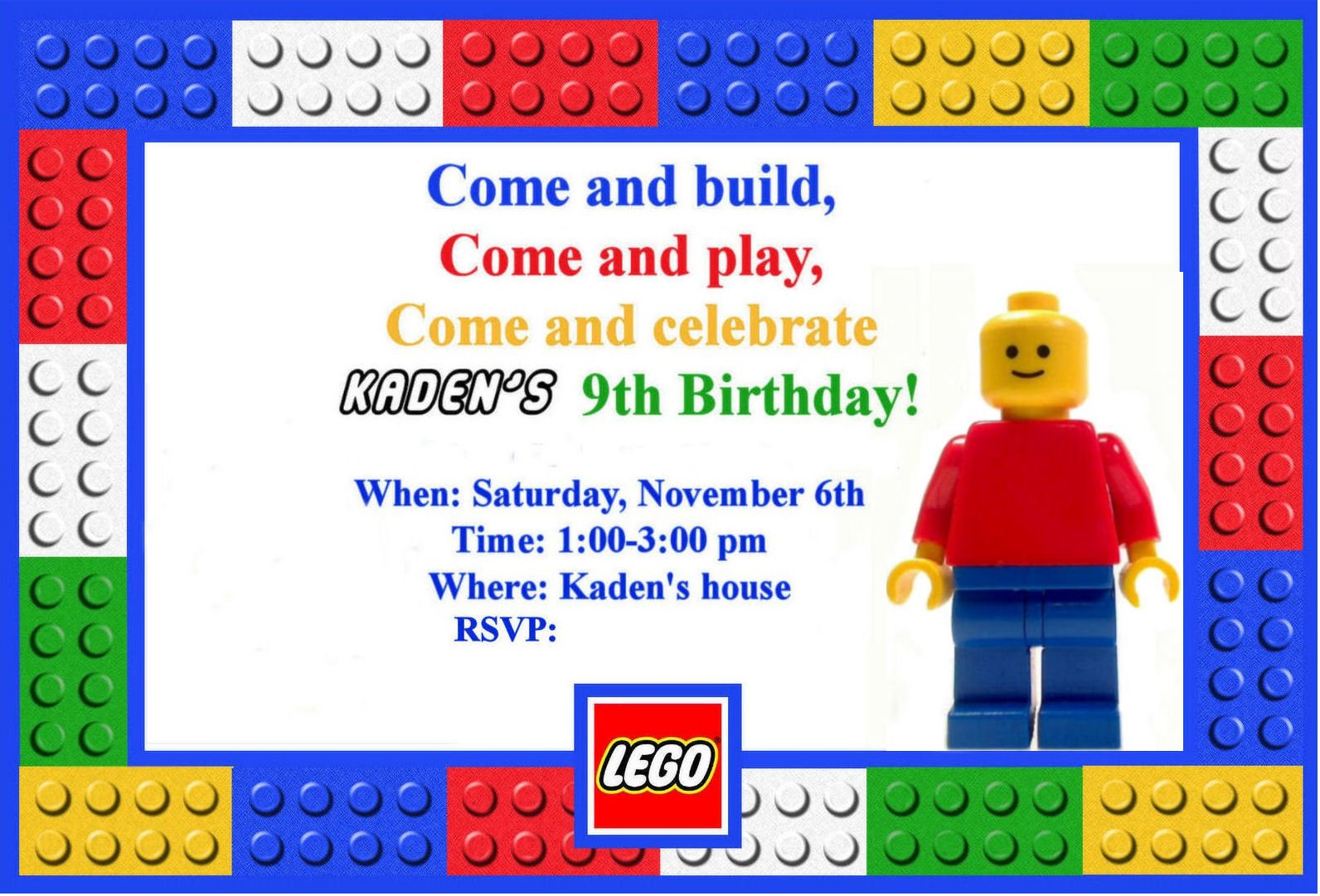 lego movie birthday invitations printable free