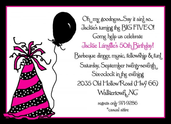 Cute 40th Birthday Invitation Wording Cute Birthday Gift – Birthday Party Invitation Sayings