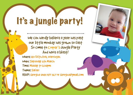 animal how to fill out a birthday party invitations