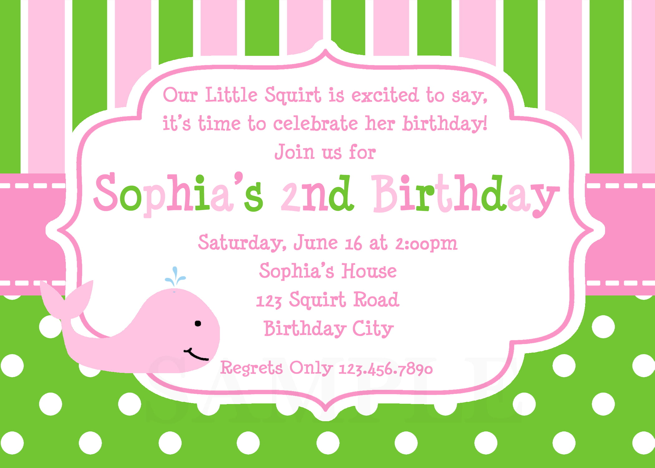 customize your own birthday invitations - Vaydile.euforic.co