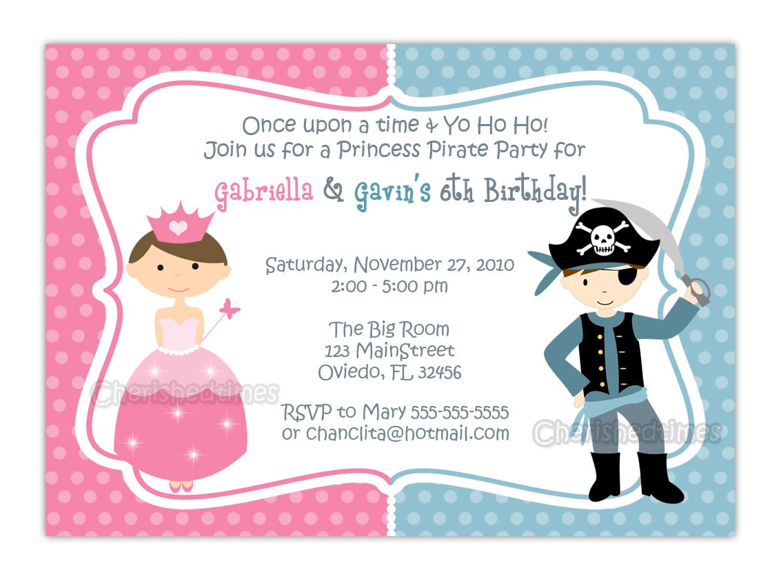 princess party invitations free - Ideal.vistalist.co