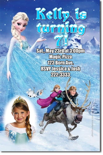 frozen free printable sweet 16 birthday invitations