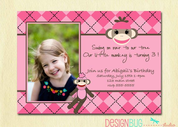 3 Years Old Birthday Invitations Wording – 3 Year Old Birthday Invitation