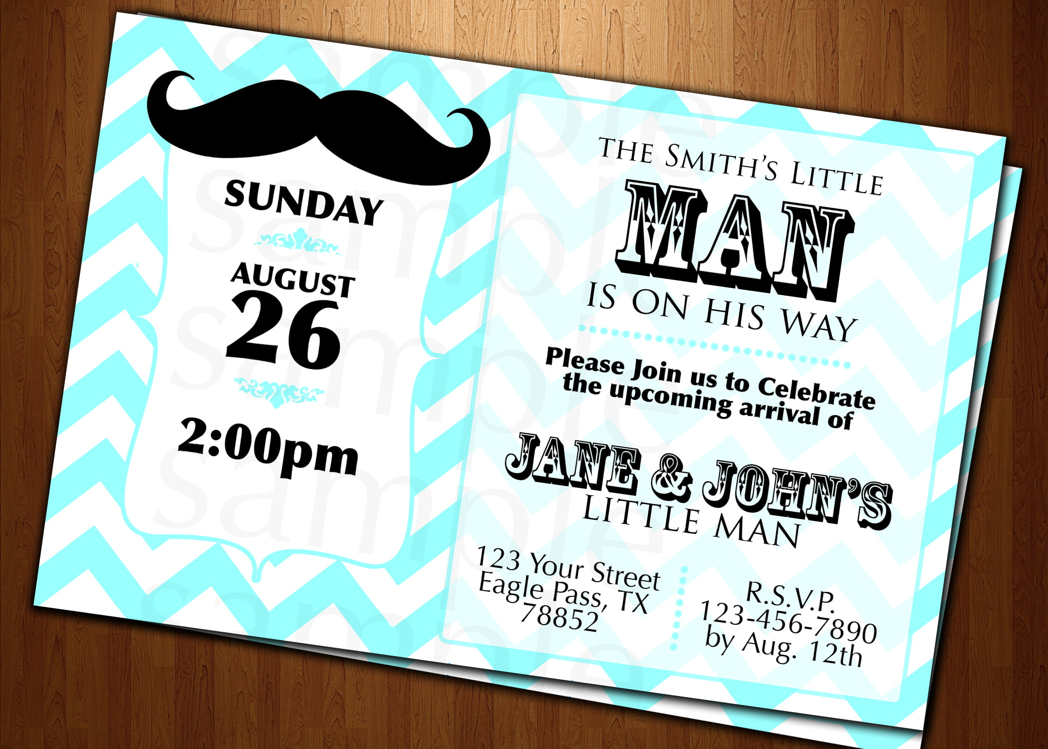 Birthday card shower invitations wording drevio invitations design mustache birthday card shower invitations wording filmwisefo Image collections