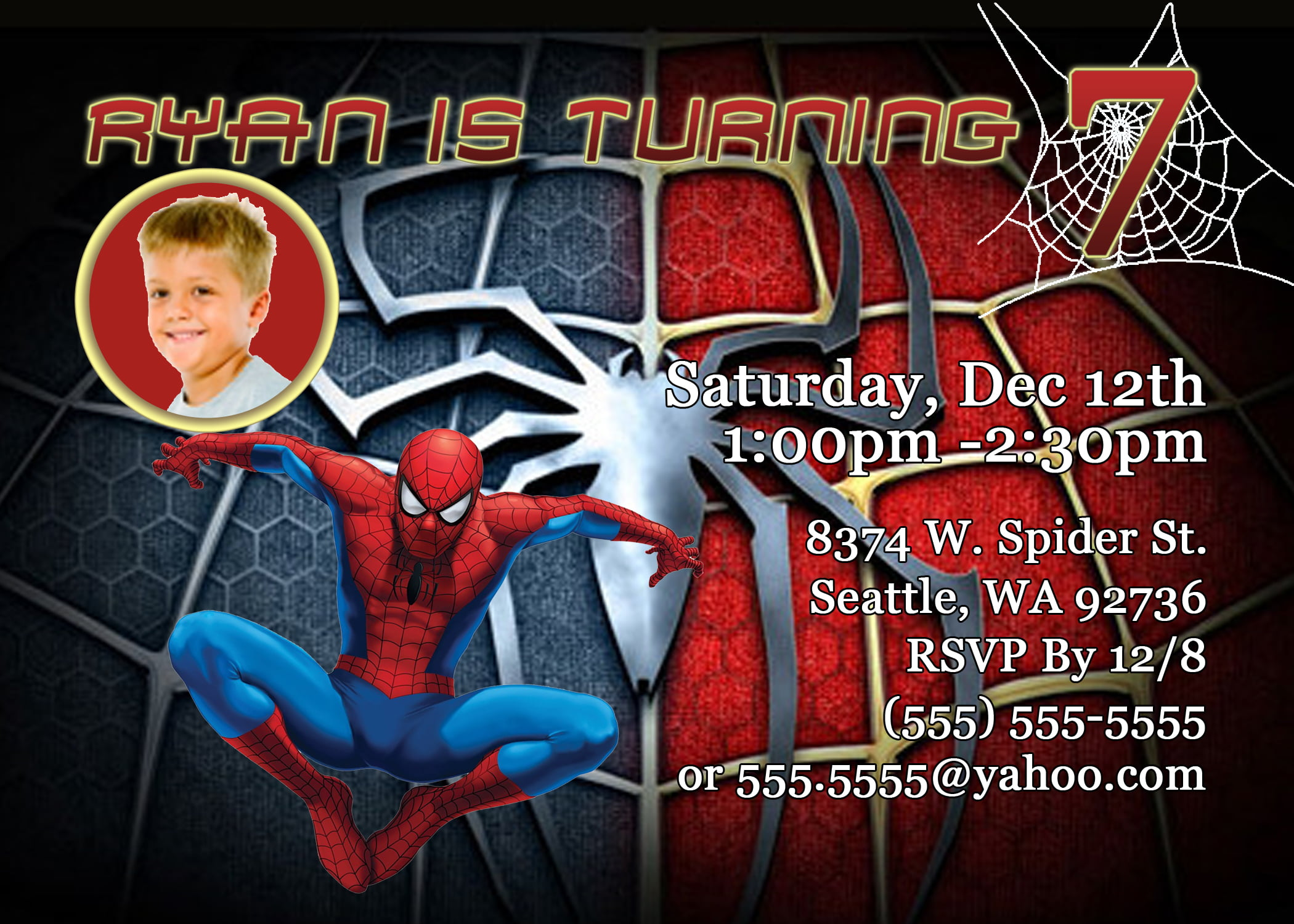 Web Free Printable Boys Birthday Invitations
