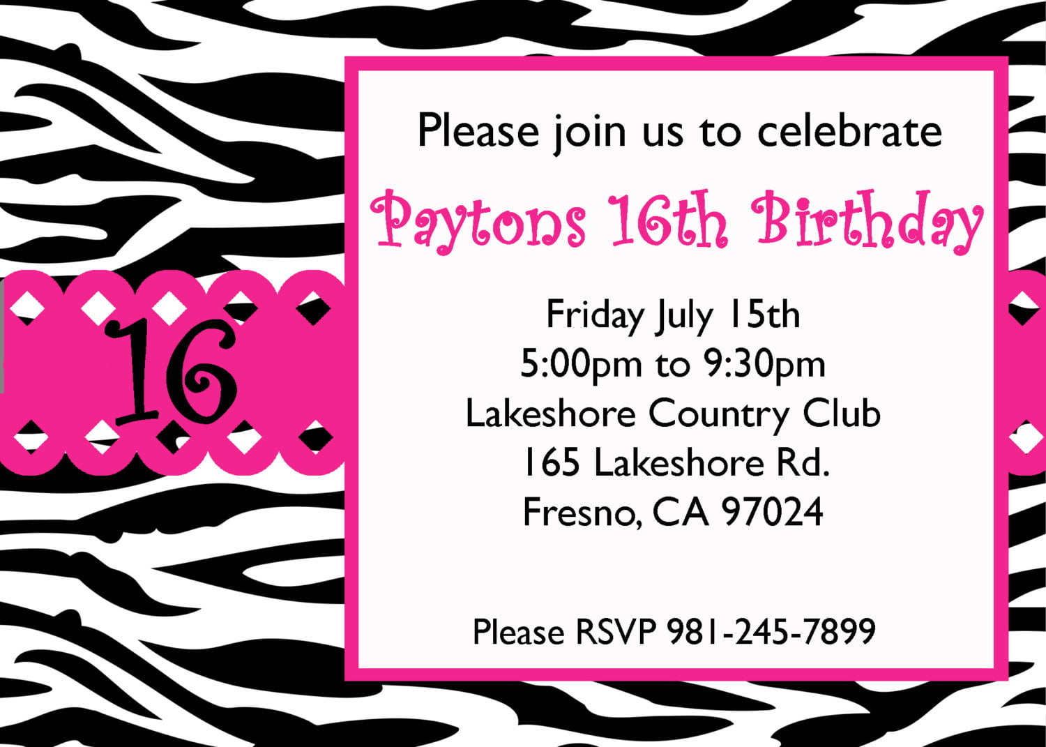 Surprise Invitation Wording was beautiful invitations design