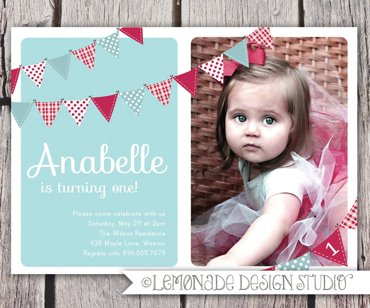 2nd Birthday Invitations Wording Samples | Drevio Invitations Design