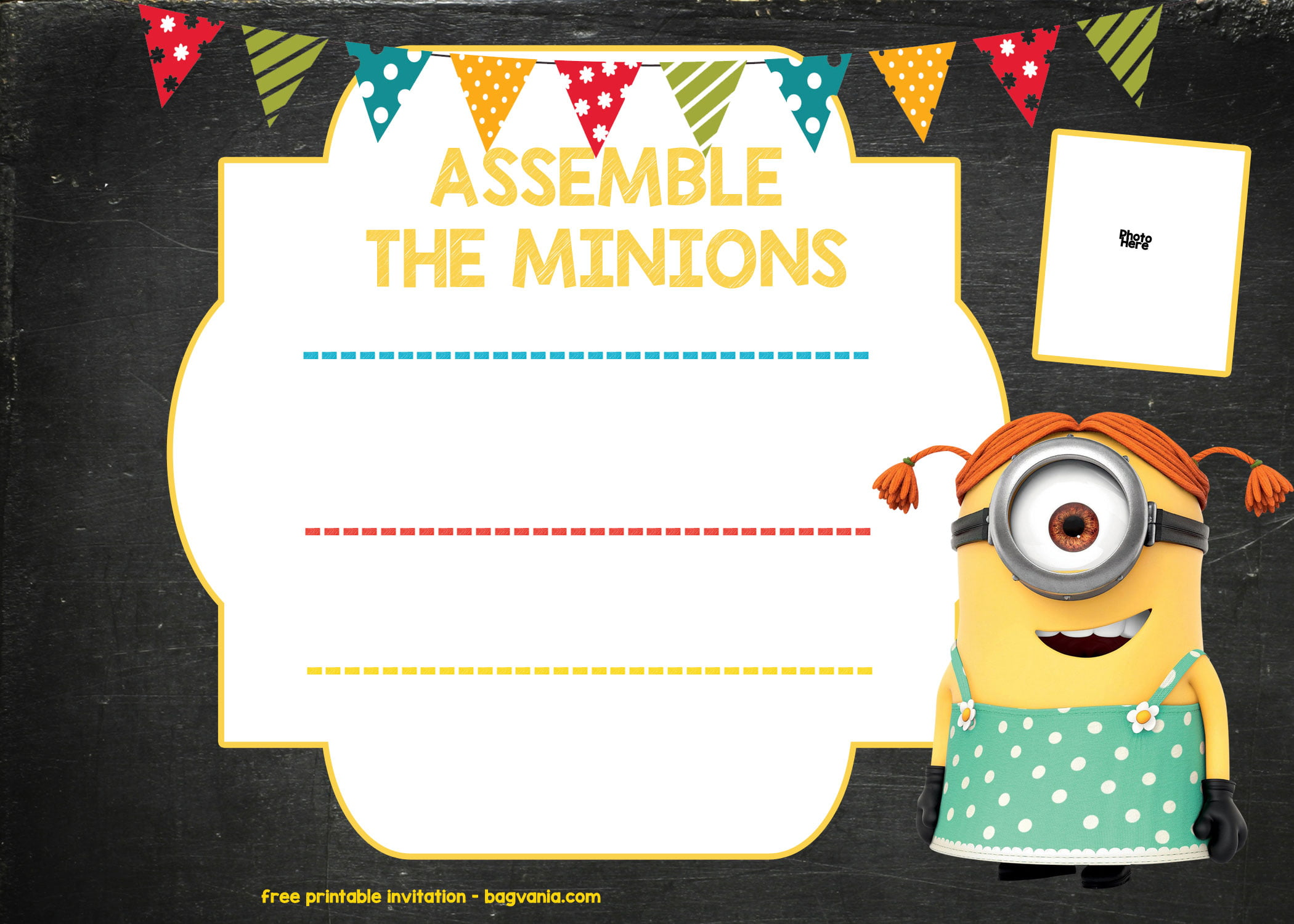 updated  bunch of minion birthday party invitations ideas