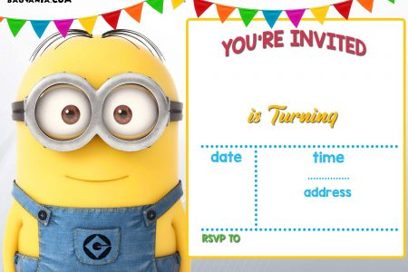 photograph regarding Minion Logo Printable called Up to date! Bunch Of Minion Birthday Celebration Invites Strategies