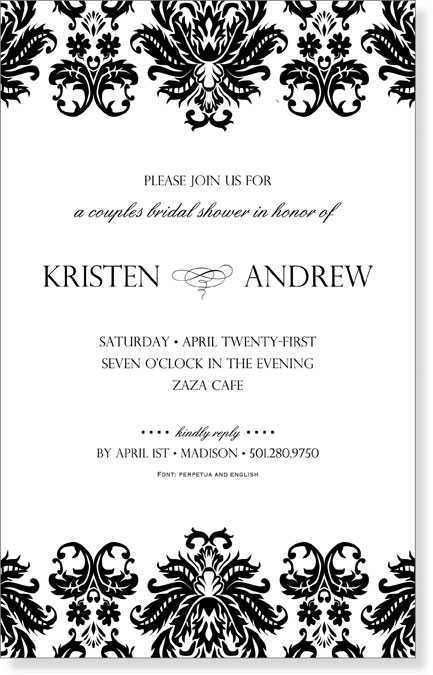 Formal Invitations - Hlwhy