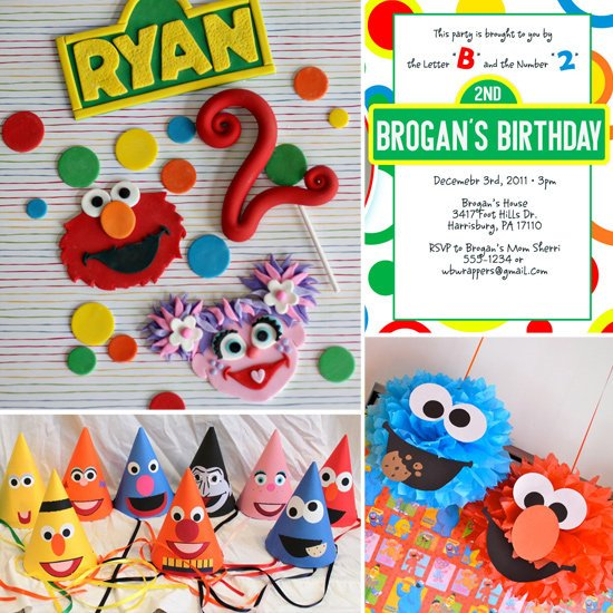 Party Ideas For A Sesame Street Themed Birthday