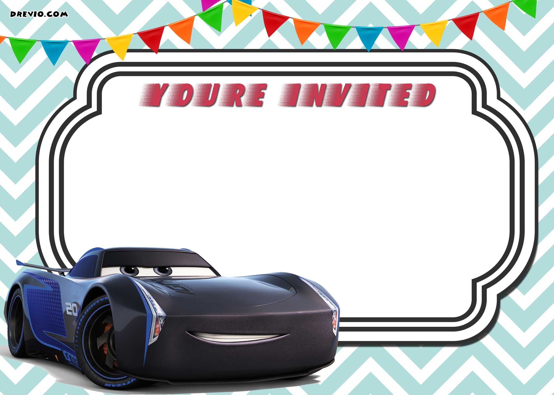 If Youre Able To Operate Photoshop Then You Can Add Some Cars Font And Fill It Easily Sized In HD Quality 1280x720 This Invitation Wont Be Blur When