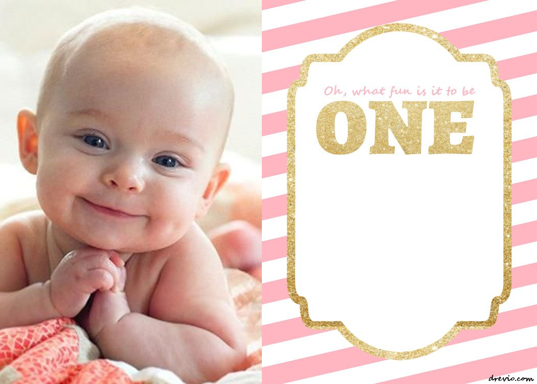 free 1st birthday invitation templates printable - Forte.euforic.co