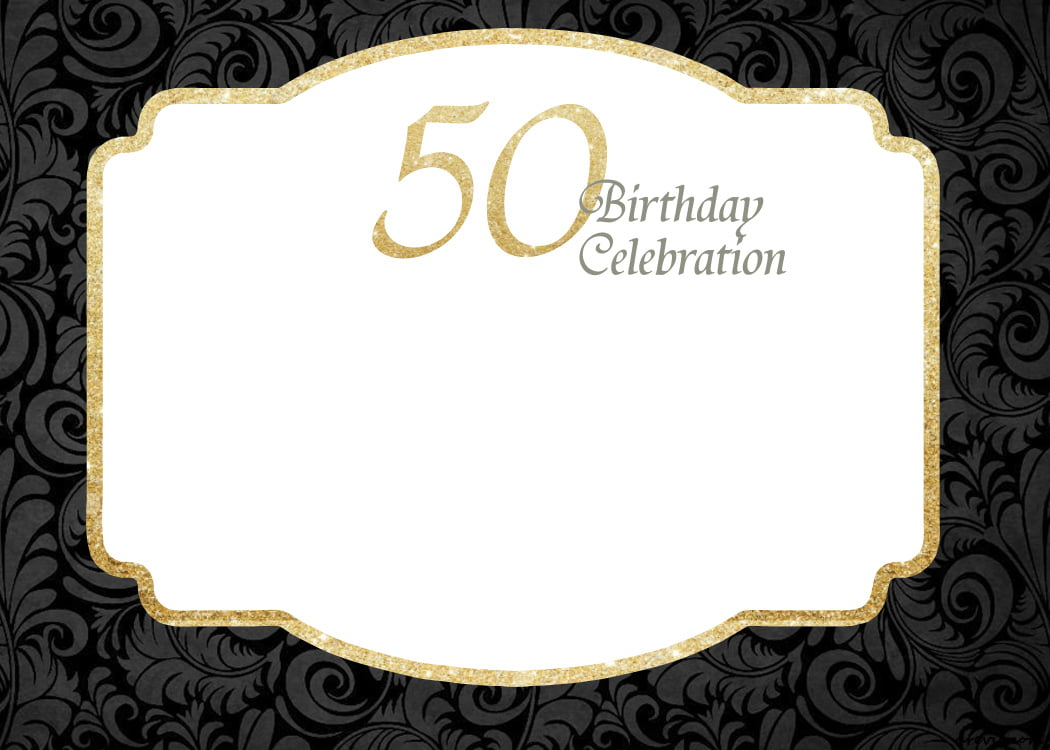 It's just a photo of Peaceful Free Printable 50th Birthday Cards