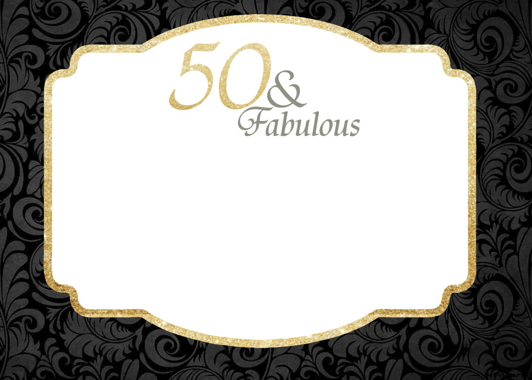 Printable 50th birthday invitations robertottni printable 50th birthday invitations filmwisefo Choice Image