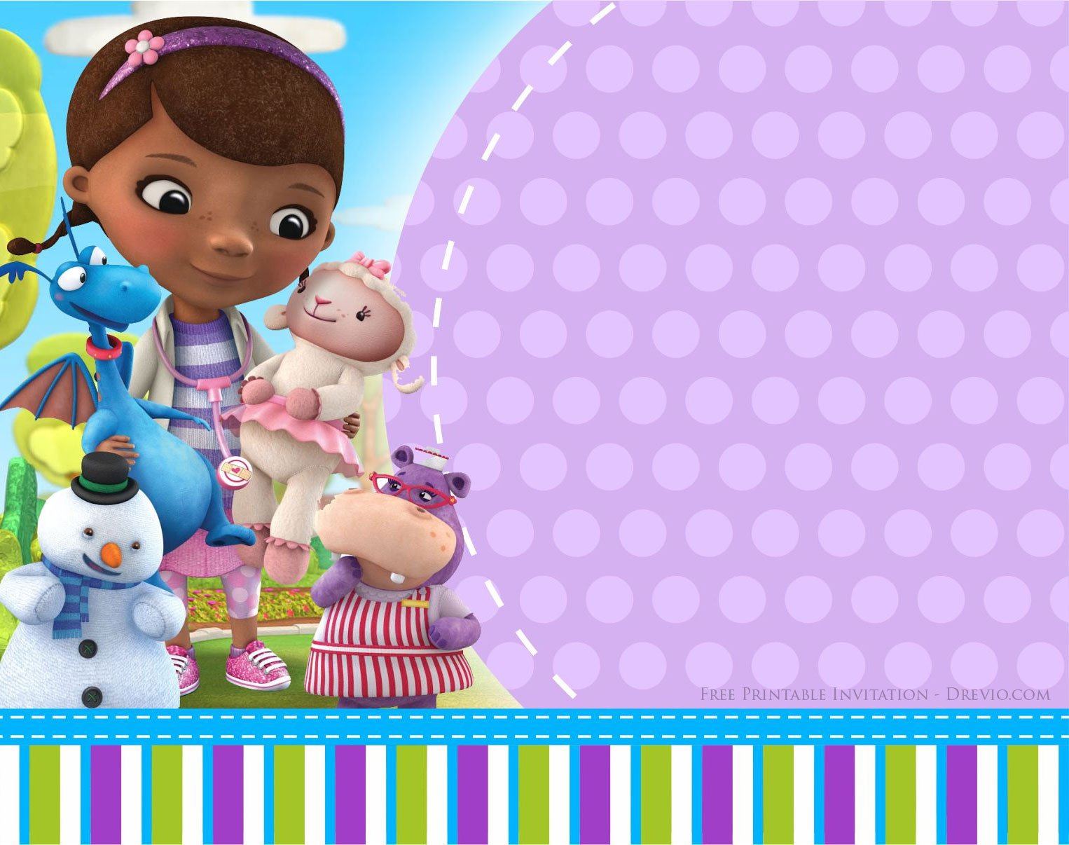 Doc mcstuffins birthday invitation templates free invitation click on the invitation and start download the invitation save the image as if youre done write down the invitation with your own wordings filmwisefo