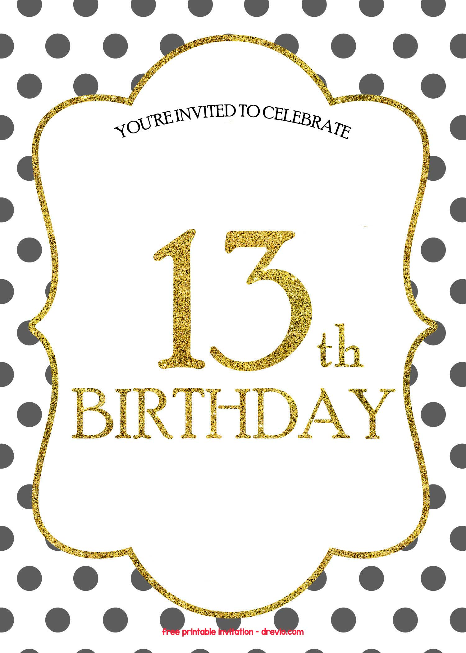 It's just a photo of Priceless Free Printable Birthday Invitation Templates