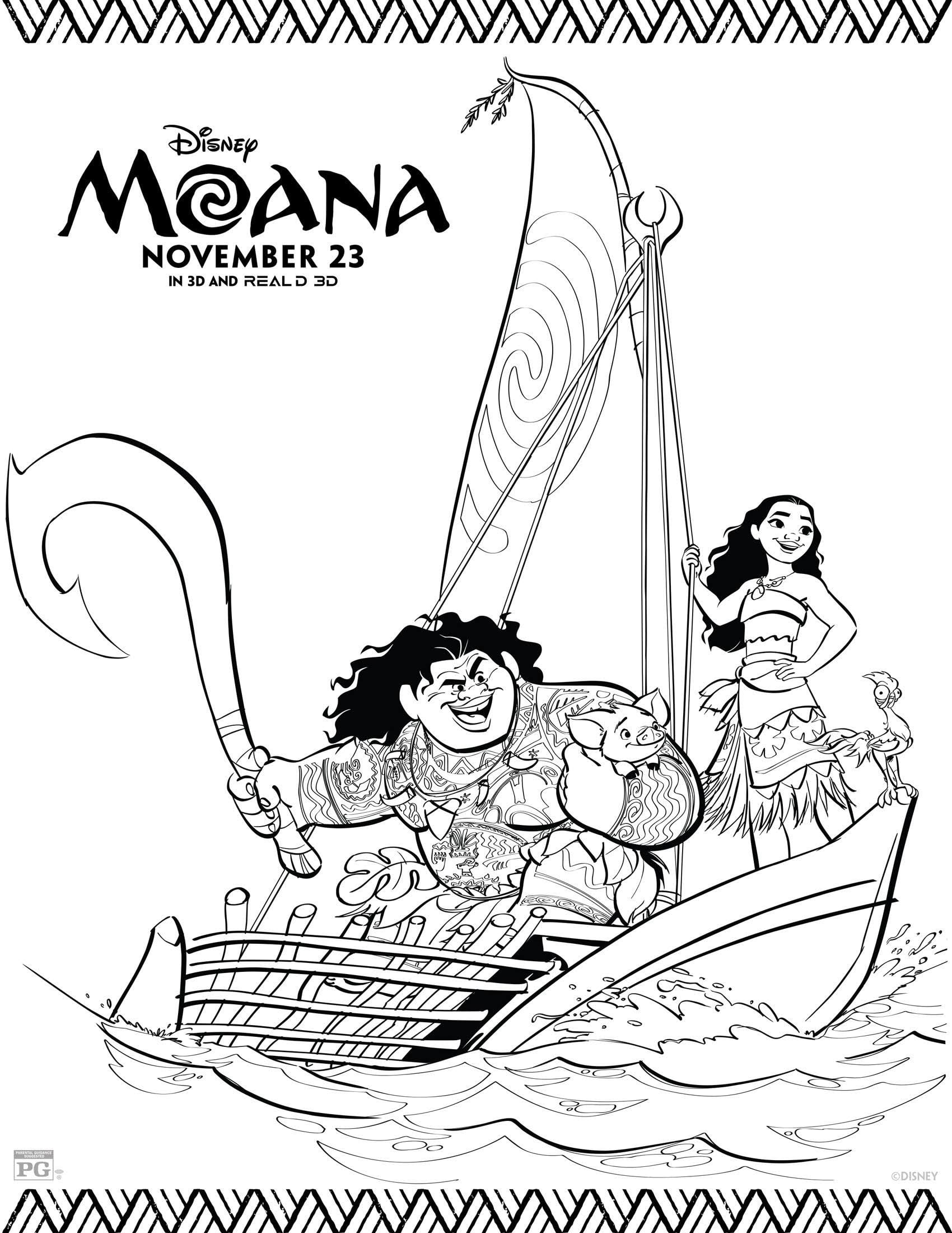 Diy Moana Birthday Party For Under Us 70 Free
