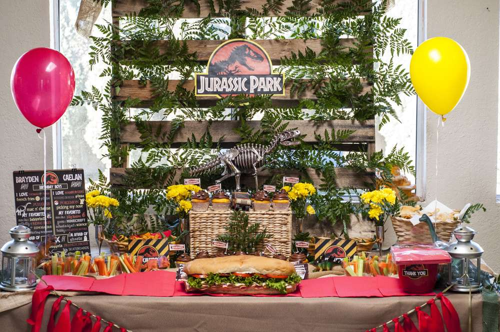 Jurassic World Fallen Kingdom Birthday Party Ideas FREE Invitation Included