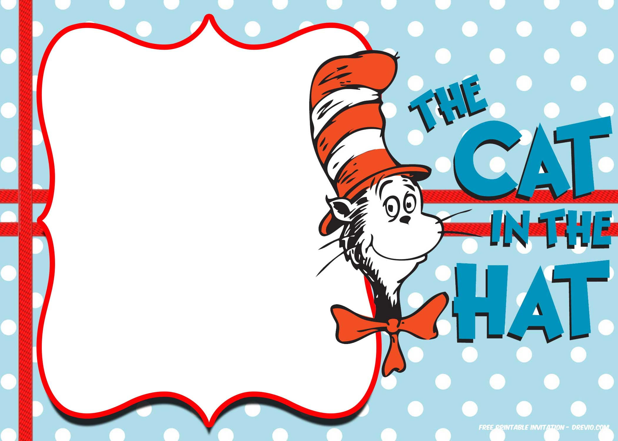 Dr Seuss Invitation Template Free best 25 ideas about dr seuss ...