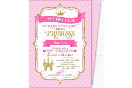 graphic about Free Printable Bachelorette Party Invitations called Free of charge Printable Royal Princess Celebration Invitation Templates